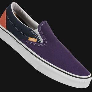 Vans Classic Mix & Match Slip-On Colorblock Shoes